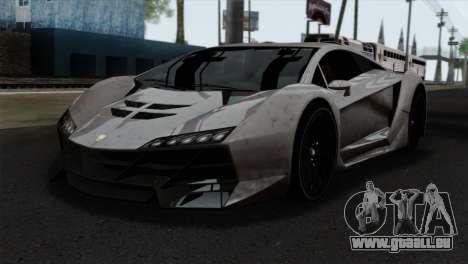 GTA 5 Pegassi Zentorno SA Style für GTA San Andreas