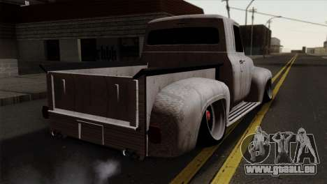 Ford F-100 1956 Stay Low für GTA San Andreas linke Ansicht