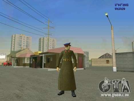 Felix Edmundovitch Dzerjinski pour GTA San Andreas deuxième écran