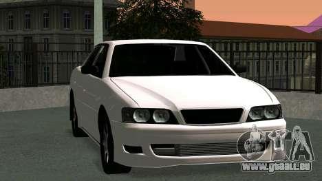 Toyota Chaser pour GTA San Andreas laissé vue
