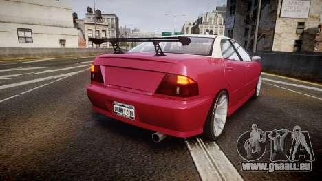 Dinka Chavos SXX pour GTA 4 Vue arrière de la gauche