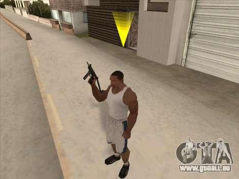 Russe des mitraillettes pour GTA San Andreas