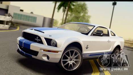 Ford Mustang Shelby GT500KR für GTA San Andreas