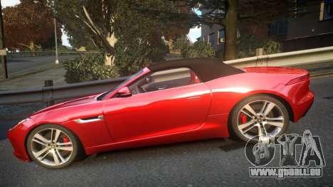 Jaguar F-Type v1.6 Release [EPM] für GTA 4 linke Ansicht