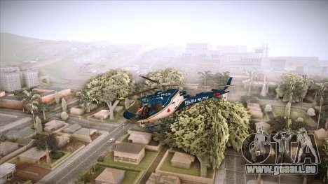 Pegasus 11 PMMG pour GTA San Andreas sur la vue arrière gauche