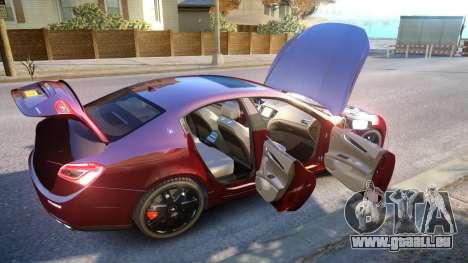 Maserati Ghibli 2014 v1.0 für GTA 4 obere Ansicht