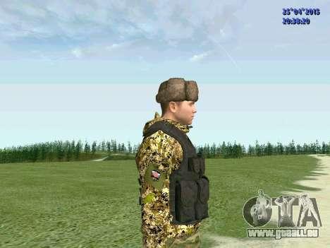 Combattant de l'APR pour GTA San Andreas troisième écran