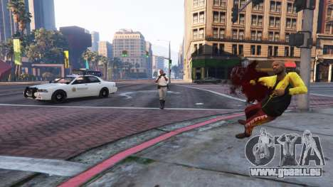 La police simulator v0.1a Démo pour GTA 5