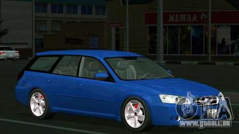 Subaru Legacy Touring Wagon 2003 für GTA San Andreas Innenansicht