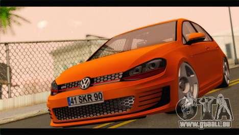 Volkswagen Golf GTI 2014 für GTA San Andreas