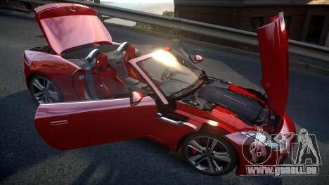 Jaguar F-Type v1.6 Release [EPM] pour GTA 4 vue de dessus