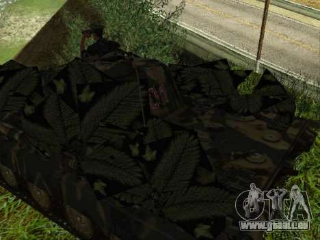 Panther pour GTA San Andreas roue