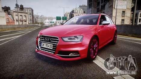 Audi S4 Avant 2013 für GTA 4