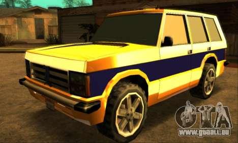 Luni Huntley für GTA San Andreas