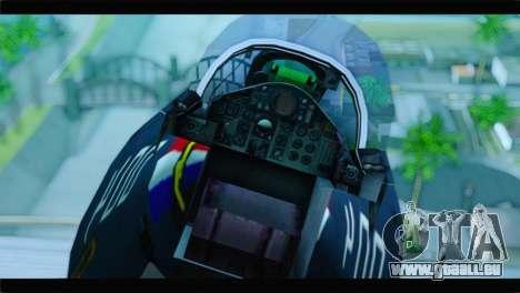 McDonnell Douglas F-4E RAF pour GTA San Andreas vue arrière