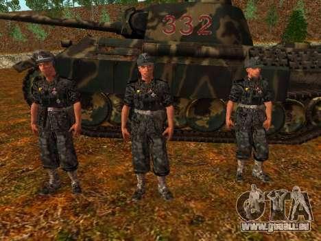 Deutsche Panzer-Kommandant für GTA San Andreas zweiten Screenshot