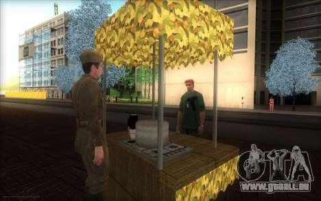 Das Denkmal für den Tag des Sieges für GTA San Andreas zweiten Screenshot