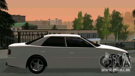 Toyota Chaser pour GTA San Andreas vue intérieure