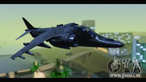 AV-8B Harrier Estovakian Air Force für GTA San Andreas