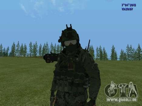 SWAT pour GTA San Andreas neuvième écran