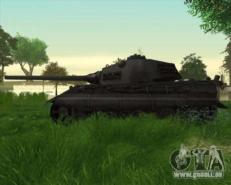 E-75 Tiger III pour GTA San Andreas laissé vue