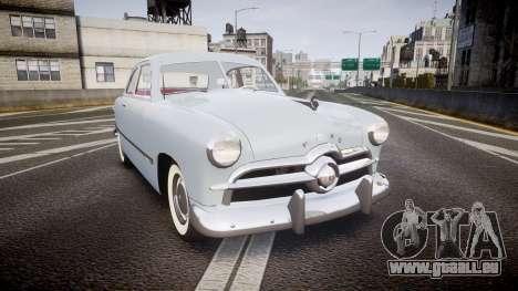 Ford Custom Club 1949 v2.2 pour GTA 4