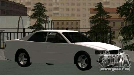 Toyota Chaser pour GTA San Andreas vue de côté