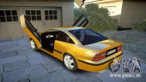 Opel Calibra v2 pour GTA 4 est un côté