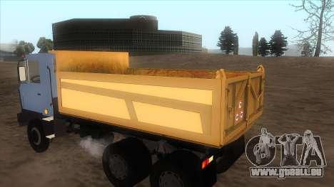 Tatra 815 pour GTA San Andreas laissé vue