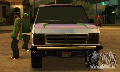 Luni Huntley pour GTA San Andreas roue