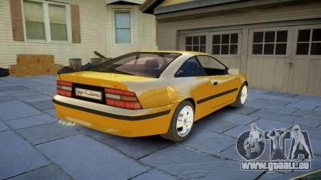 Opel Calibra v2 pour GTA 4 Vue arrière