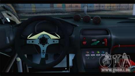 Nissan Silvia S14 Zenki Falken pour GTA San Andreas sur la vue arrière gauche