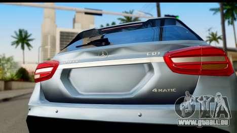 Mercedes-Benz GLA220 2014 für GTA San Andreas rechten Ansicht
