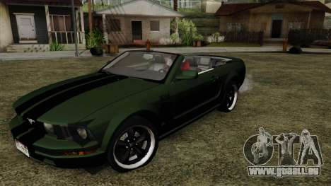 Ford Mustang Boss Cabriolet 2005 pour GTA San Andreas