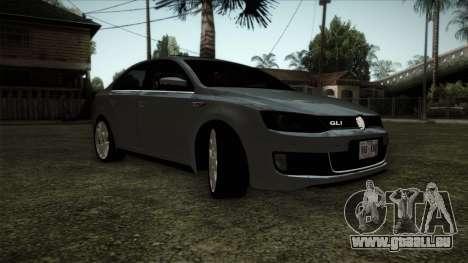 Volkswagen Jetta GLI Edition 30 2014 pour GTA San Andreas