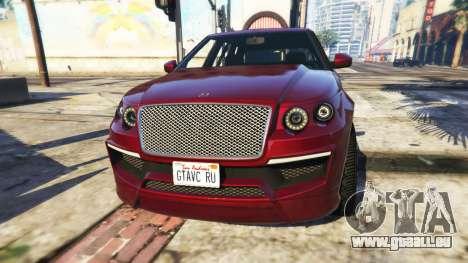 Customize Plate für GTA 5