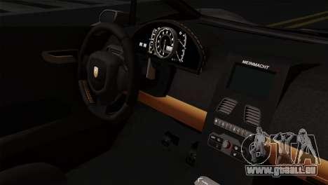 GTA 5 Pegassi Zentorno SA Style für GTA San Andreas rechten Ansicht