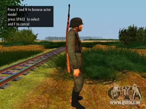 German soldiers für GTA San Andreas sechsten Screenshot