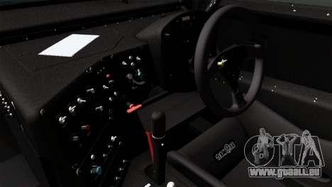Toyota Supra 2005 EXXON SuperFlo pour GTA San Andreas sur la vue arrière gauche
