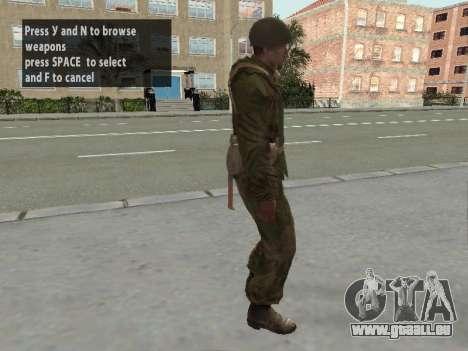 Soldaten der roten Armee in die Rüstung für GTA San Andreas fünften Screenshot