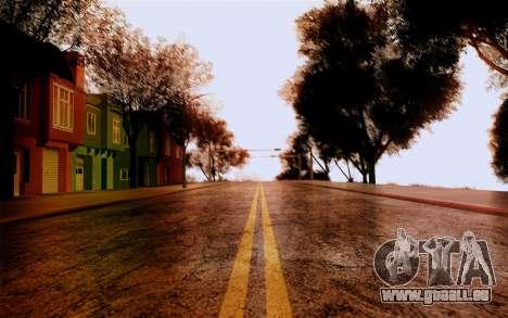 DirectX Test 1 - ReMastered pour GTA San Andreas deuxième écran