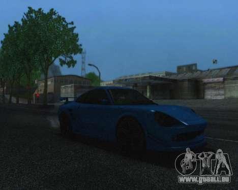ENBSeries by IE585 V2.1 pour GTA San Andreas deuxième écran