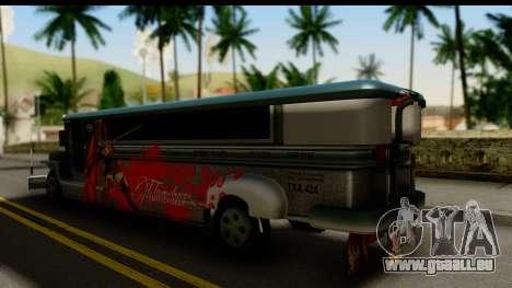 Patok Jeepney pour GTA San Andreas laissé vue