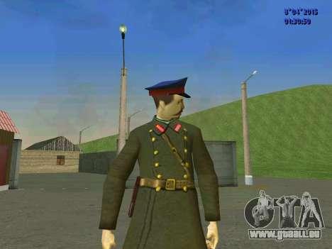 Felix Edmundovitch Dzerjinski pour GTA San Andreas troisième écran