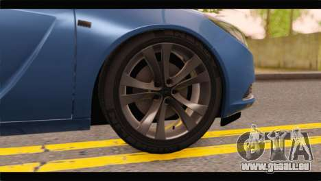 Opel Insignia Wagon für GTA San Andreas zurück linke Ansicht