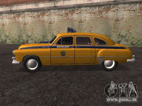 GAS -12 ZIM sowjetischen Miliz für GTA San Andreas