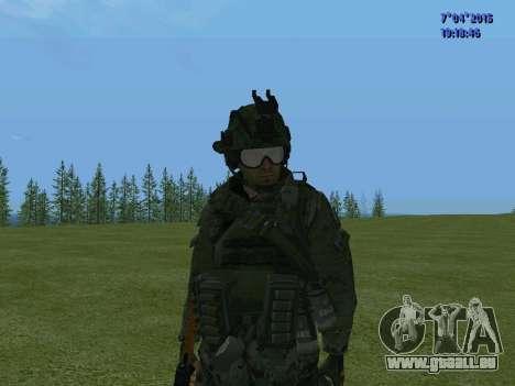 SWAT pour GTA San Andreas huitième écran