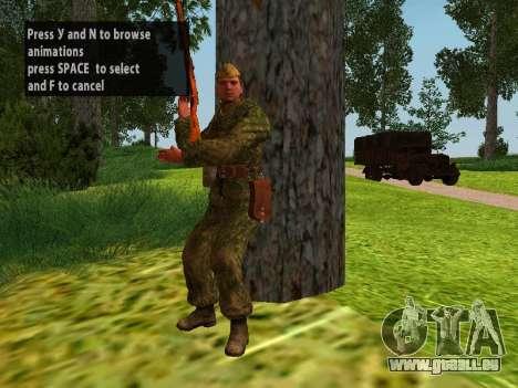 Les soldats de l'armée rouge pour GTA San Andreas huitième écran