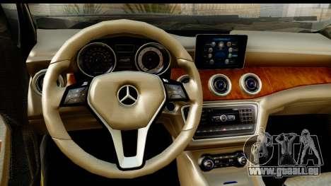Mercedes-Benz GLA220 2014 für GTA San Andreas Innenansicht