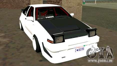 Toyota AE86 pour GTA San Andreas